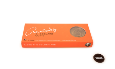 Rembrandtje Chocolate Coins Gift Box 3 munten