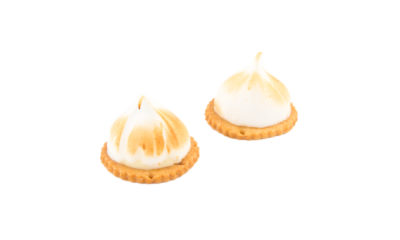 9 petit four lemon meringue